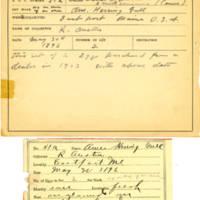 Thomas Wilmer Dewing, egg card # 039
