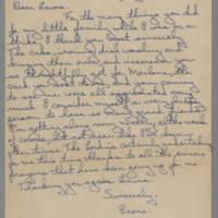 1945-07-10 Irene to Laura Frances Davis