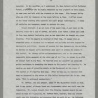 "1970-05-07 """"A Description of Events Which Occurred on or About The Pentacrest Area on May 7 and 8, 1970"""" Page 4"