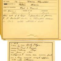 Thomas Wilmer Dewing, egg card # 341