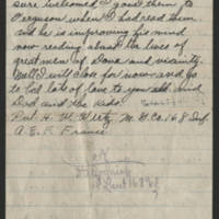 1918-04-18 Harvey Wertz to Mrs. L.A. Wertz Page 4