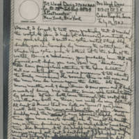 1943-07-10 Laura Davis to Lloyd Davis Page 1