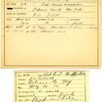 Thomas Wilmer Dewing, egg card # 294
