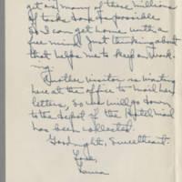 1942-01-22 Laura Davis to Lloyd Davis Page 3