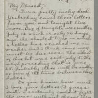 Conger Reynolds correspondence, August 1918