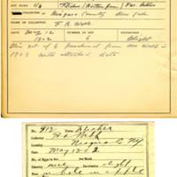 Thomas Wilmer Dewing, egg card # 303