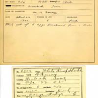 Thomas Wilmer Dewing, egg card # 761u