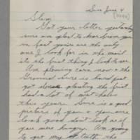 1944-06-04 George Davis to Lloyd Davis Page 1
