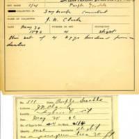 Thomas Wilmer Dewing, egg card # 714u