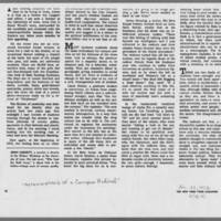 """1972-01-30 New York Times Magazine Article: """"""""Metamorphosis Of A Campus Radical"""""""" Page 4"""