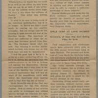 "1918-07-03 S.U.I. Newsletter Clipping: """"Conger Reynolds Tells Defeat of Kaiser's Finest"""""