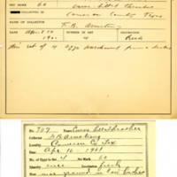 Thomas Wilmer Dewing, egg card # 808u