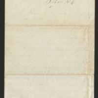 Milton Mowrer letters to sister Ellen Miller Mowrer, 1866-1868
