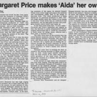 "1981-11-14 c""""Margaret Price makes 'Aida' her own"""""