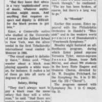 "1971-05-18 """"Black Opera Star Finds Race Bias in Companies"""""