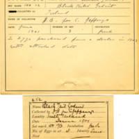 Thomas Wilmer Dewing, egg card # 174