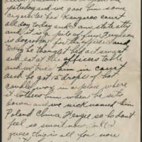 1917-11-30 Harvey Wertz to Mr. L.A. Wertz Page 2