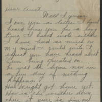 1919-06-19 Letter from Edna Page 1