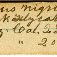 Clinton Mellen Jones, egg card # 311