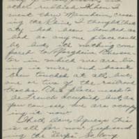 1945-07-20 Pfc. Roger K. Banks to Dave Elder Page 2