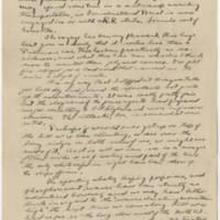 1919-10-29 Robert M. Browning to Dr. Mabel C. Williams Page 1