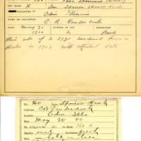Thomas Wilmer Dewing, egg card # 648u
