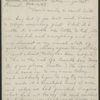 1917-12-12 Daphne Goodenough to Conger Reynolds Page 1