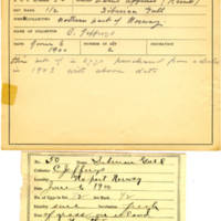 Thomas Wilmer Dewing, egg card # 037