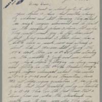 1945-06-03 Milo F. Ralston to Dave Elder Page 1