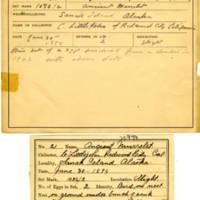 Thomas Wilmer Dewing, egg card # 018