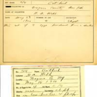 Thomas Wilmer Dewing, egg card # 800u