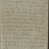 1919-01-17 Harvey Wertz to Miss Dorothy Wertz Page 3