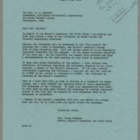 1964-08-06 Mrs. James Schramm to The Rev. G.A. Saathof