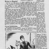 "1947-10-30 Burlington Hawk-Gazette Article: """"Atom Control Need Told"""""