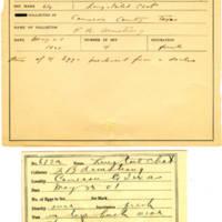 Thomas Wilmer Dewing, egg card # 547