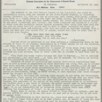 1963-09-18 NAACP Newsletter, Fort Madison Branch