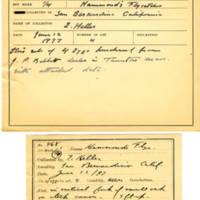 Thomas Wilmer Dewing, egg card # 368