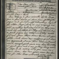 1945-04-27 Sgt. Forrest Mitchell to Dave Elder