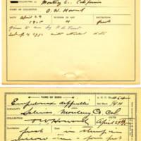 Thomas Wilmer Dewing, egg card # 362
