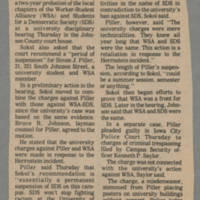 1972-04-14 Article: '3-year SDS ban?' Page 1