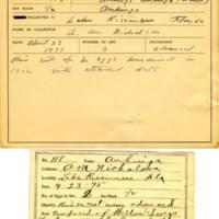 Thomas Wilmer Dewing, egg card # 072