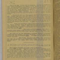 v.1:no.1: Inside front cover