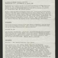 LULAC Glances, 1968-1971