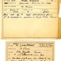 Thomas Wilmer Dewing, egg card # 400