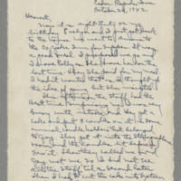 1942-10-26 Laura Davis to Lloyd Davis Page 1