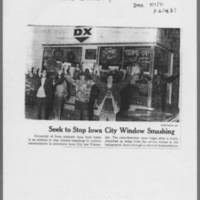 "1971-05-09 Des Moines Register Article: """"Youths Vs. Youths At Iowa City"""" Page 2"