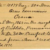 Clinton Mellen Jones, egg card # 166