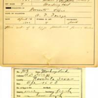 Thomas Wilmer Dewing, egg card # 795u