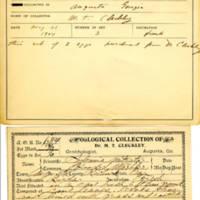 Thomas Wilmer Dewing, egg card # 793u