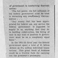 "1953-07-09 Des Moines Register Article: ""Fair Employment in Government Business"" Page 2"
